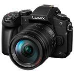 Panasonic Lumix DMC-G80H Aparat Foto Mirrorless Kit cu Obiectiv 14-140mm F3.5-5.6 ASPH POWER O.I.S. Negru