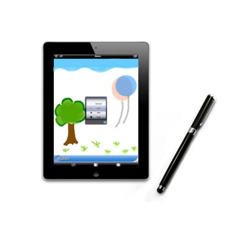 avantree-2-in-1-universal-capacitive-touch-screen-pen---ball-pen-negru-creion-capacitiv-30375-2