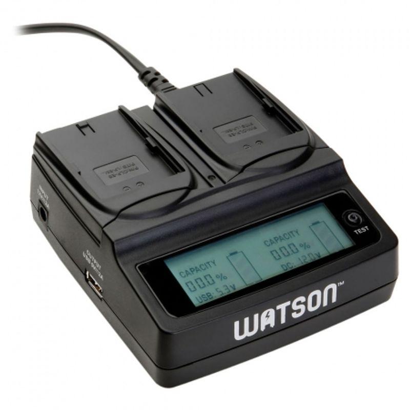 watson-lp-e6-duo-lcd-charger-incarcator-pentru-doi-acumulatori-canon-lp-e6-30991