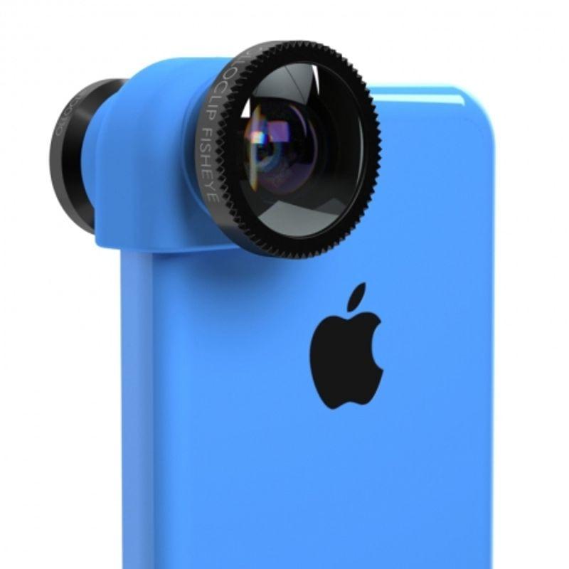 ollo-clip-sistem-lentile-3-in-1--fisheye--wide-angle--macro-pentru-iphone-5c-albastru-31723
