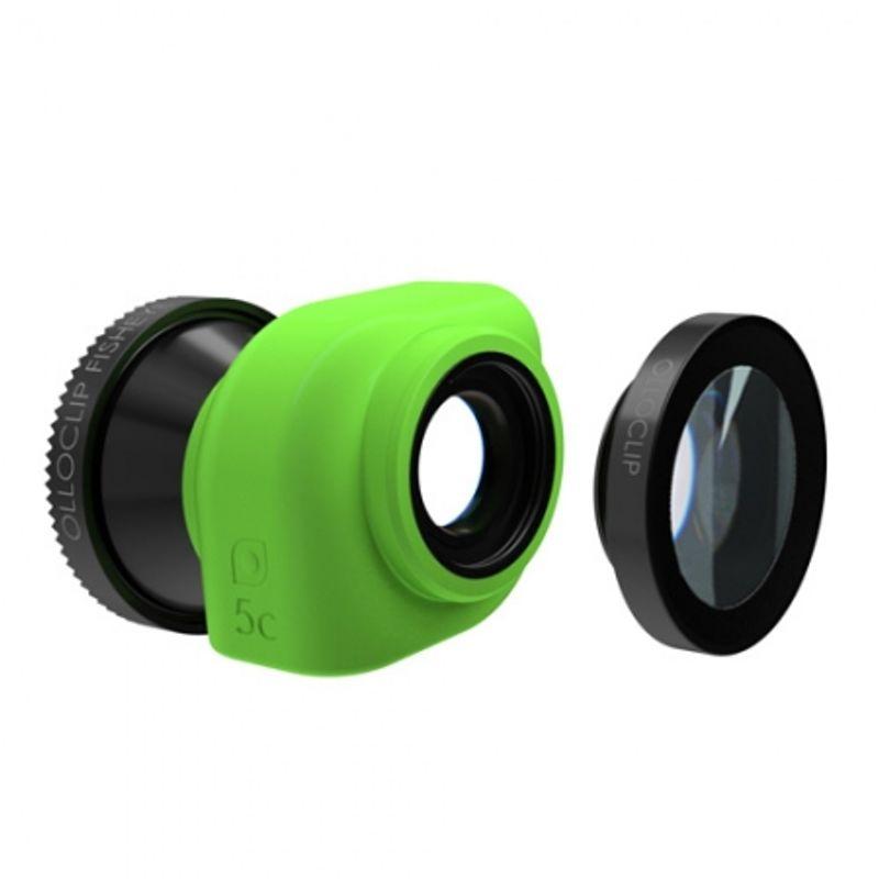 ollo-clip-sistem-lentile-3-in-1--fisheye--wide-angle--macro-pentru-iphone-5c-roz-31726-2