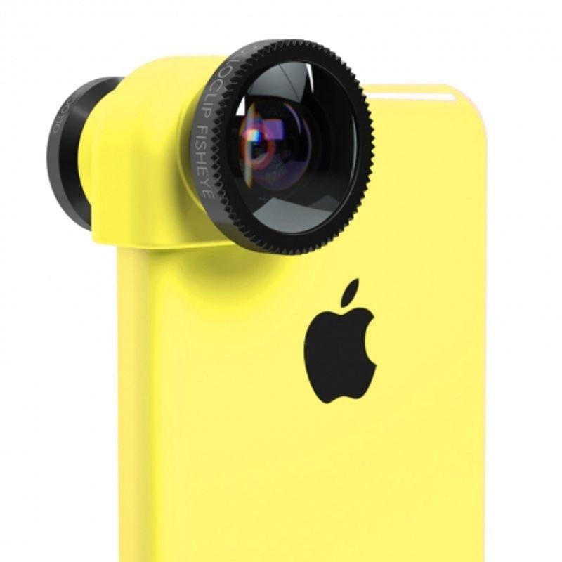 ollo-clip-sistem-lentile-3-in-1--fisheye--wide-angle--macro-pentru-iphone-5c-galben-31728