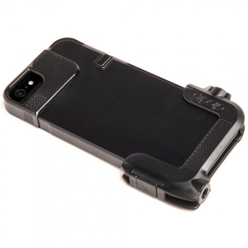 ollo-clip-carcasa-quick-flip-adaptor-pro-photo-negru-pentru-iphone-4s-31735