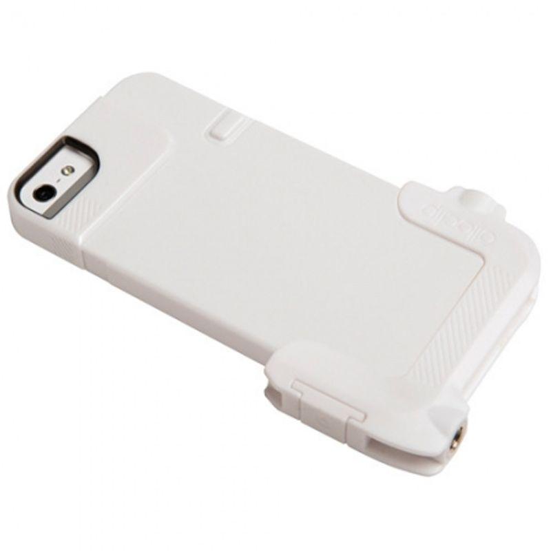 ollo-clip-carcasa-quick-flip-adaptor-pro-photo-alb-pentru-iphone-4s-31736