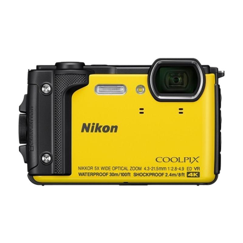 nikon-coolpix-w300-aparat-foto-compact-waterproof--video-4k--wi-fi--galben-62444-835