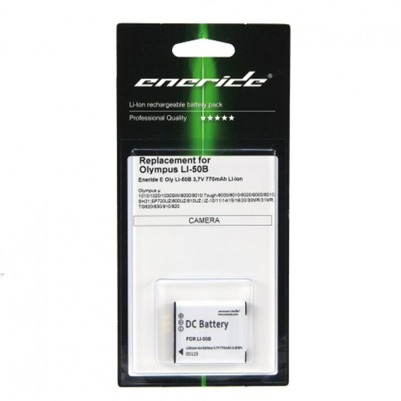 eneride-li-50b-acumulator-replace-tip-olympus-li-50b--770mah-32824