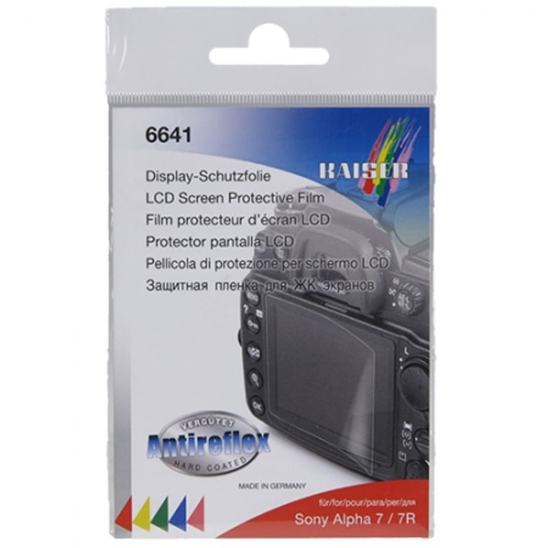 kaiser--6641-lcd-screen-protective-film-for-sony-alpha-7---r7-33038