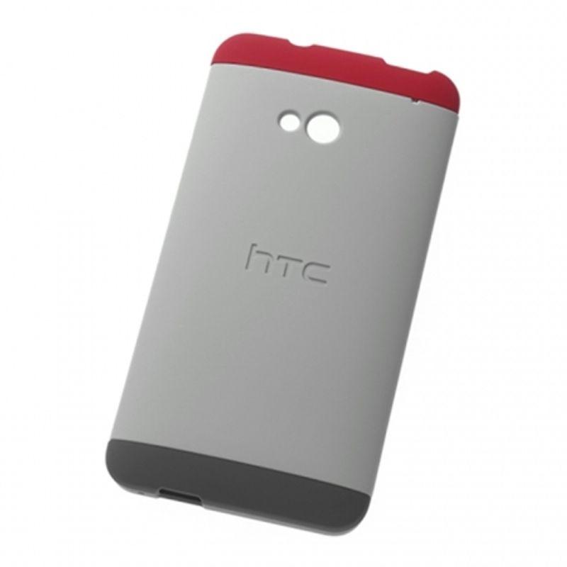 htc-hc-c840-husa-rigida-double-dip-pentru-htc-one-m7-gri-34778