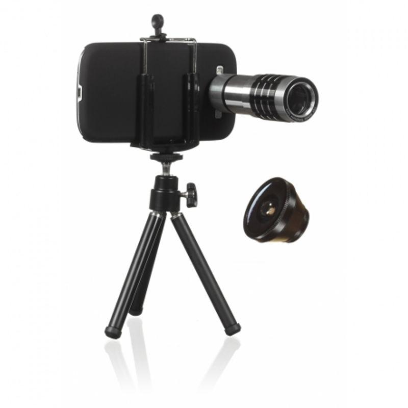 kitvision-pachet-obiective-galaxy-s3--fisheye--zoom--carcasa--holder-si-trepied-34979