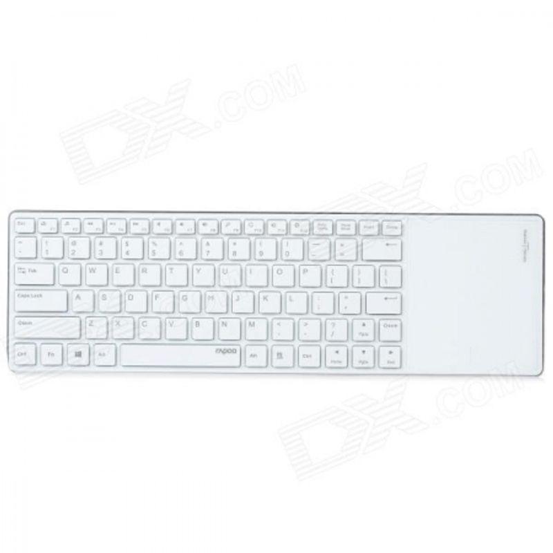 hama-rapoo-e6700-tastatura-bluetooth-cu-touchpad-pentru-tablete-alb-35400