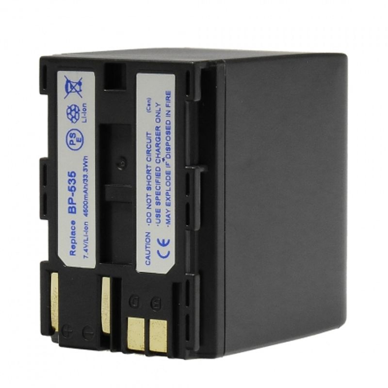 power3000-pl535w-853-acumulator-replace-tip-canon-bp-535--4500mah-36577