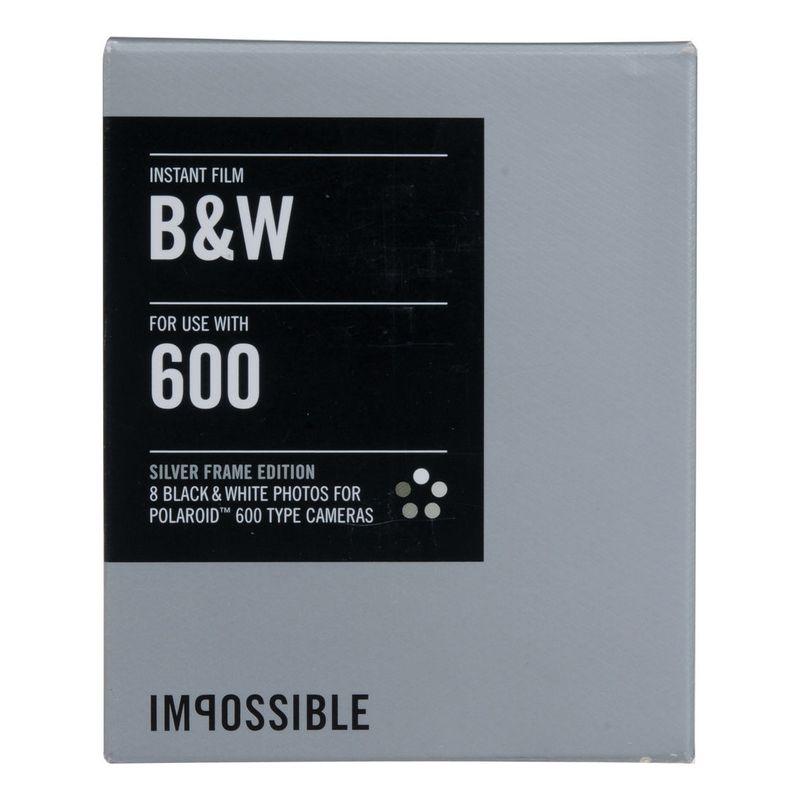 impossible-b-w-film-instant-pentru-polaroid-600-rama-argintie-39517-660