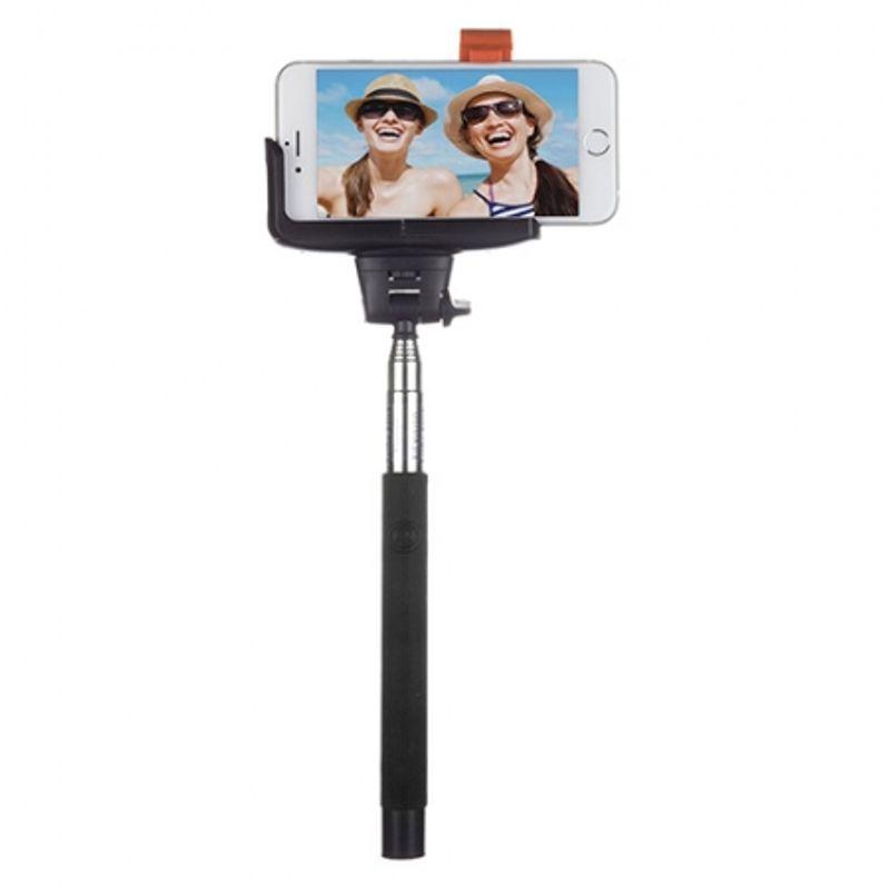 kitvision-trendz-glitter-selfie-stick-negru-40942-456