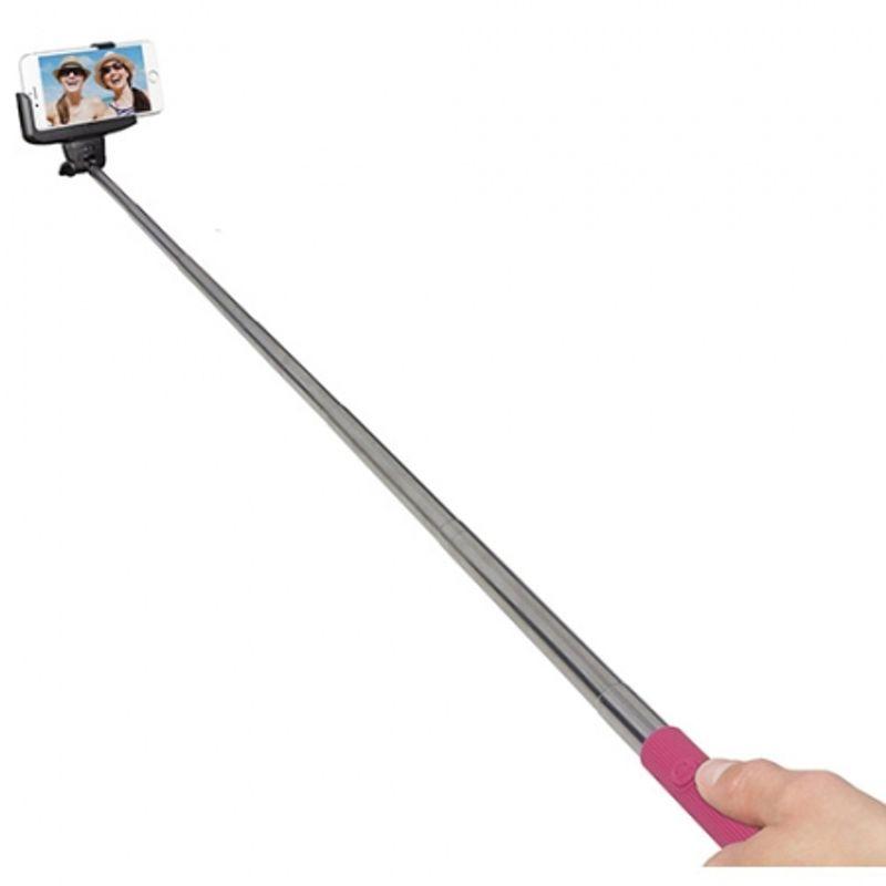 kitvision-trendz-glitter-selfie-stick-roz-40943-2-152