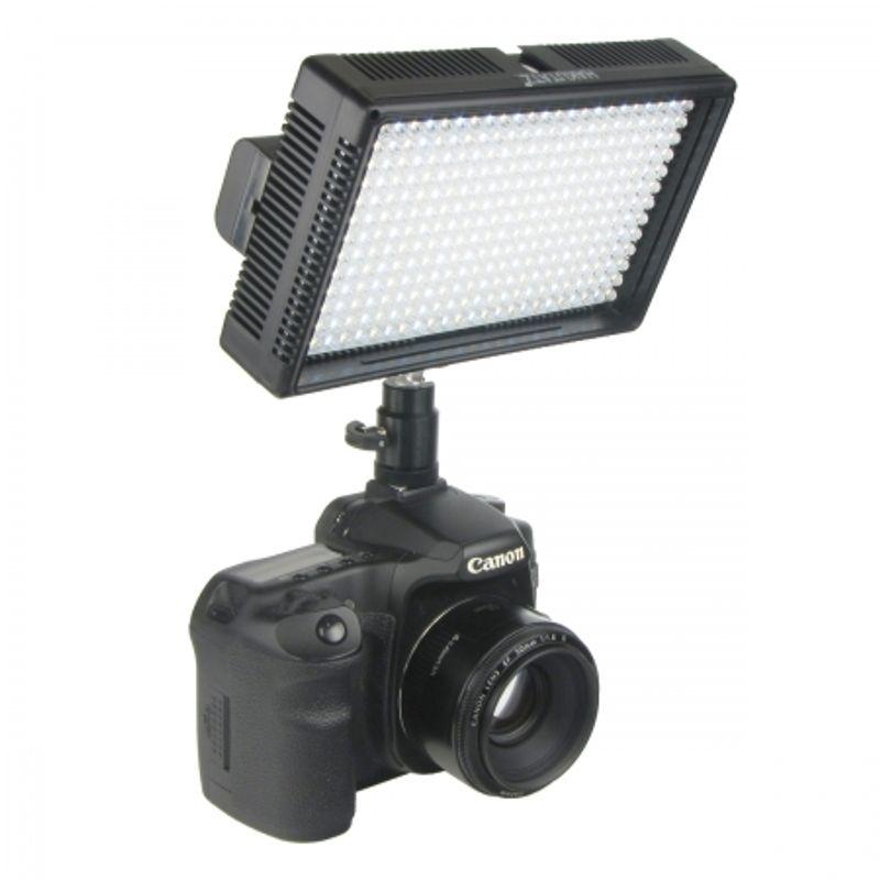 hakutatz-vl-312-lampa-video-cu-312-leduri-20926-5