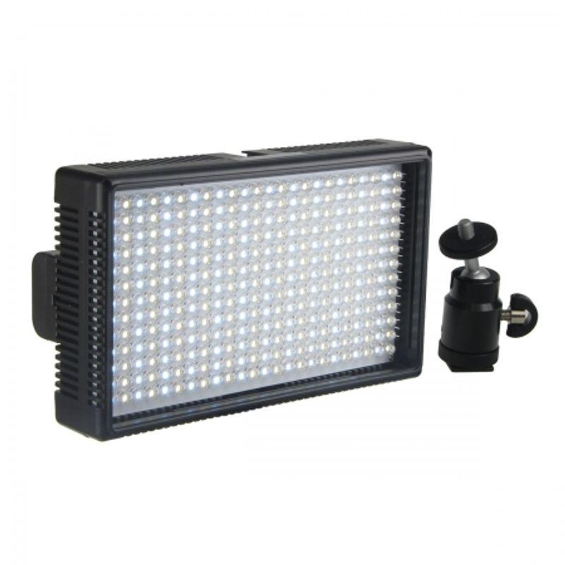hakutatz-vl-312-lampa-video-cu-312-leduri-20926-6