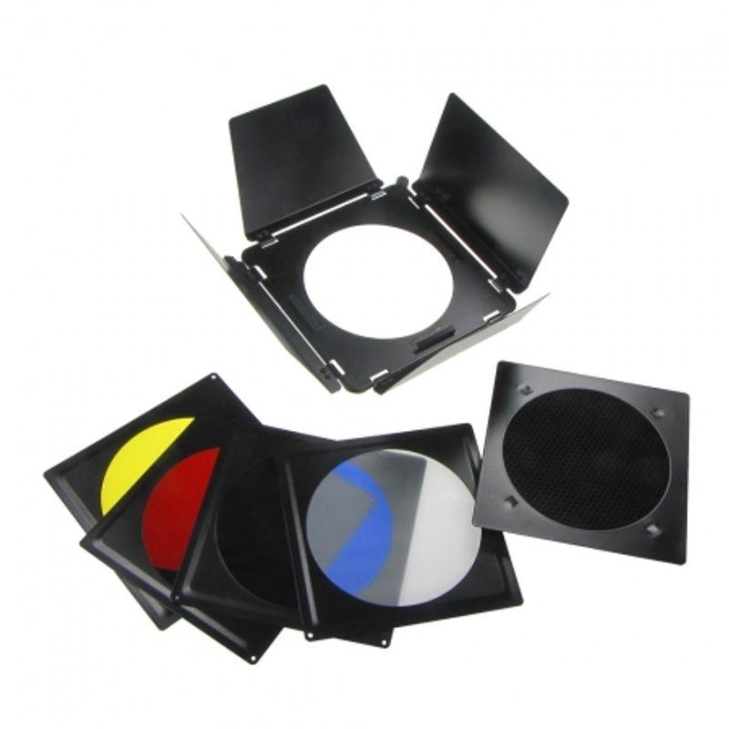 fancier-a-110-set-voleti-grid-filtre-pentru-elinchrom-18cm-22669