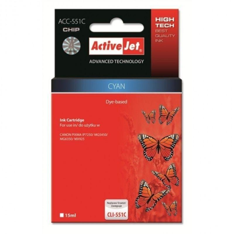 activejet-replace-cli-551c-cyan--15ml---pixma-ip7250-46708-50