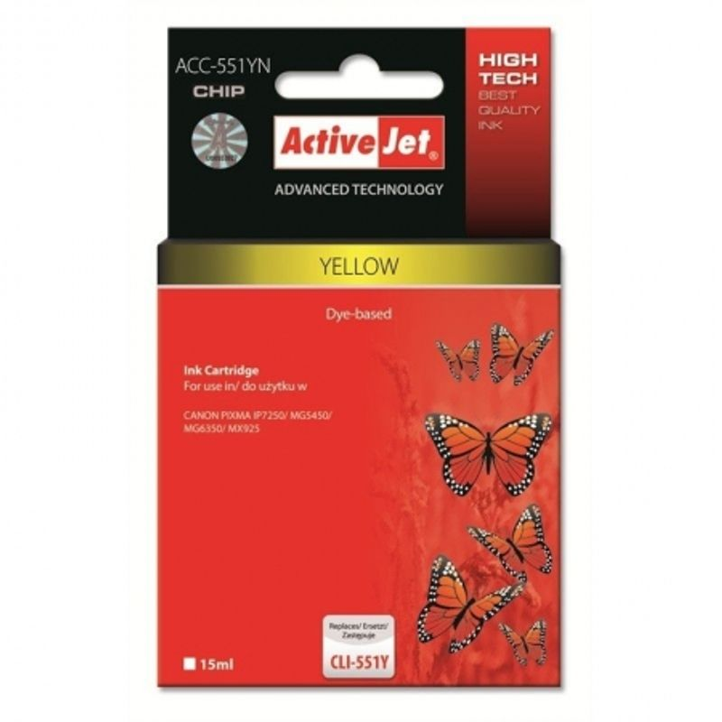 activejet-replace-canon-cli-551y-yellow--15ml---pixma-ip7250-46712-607