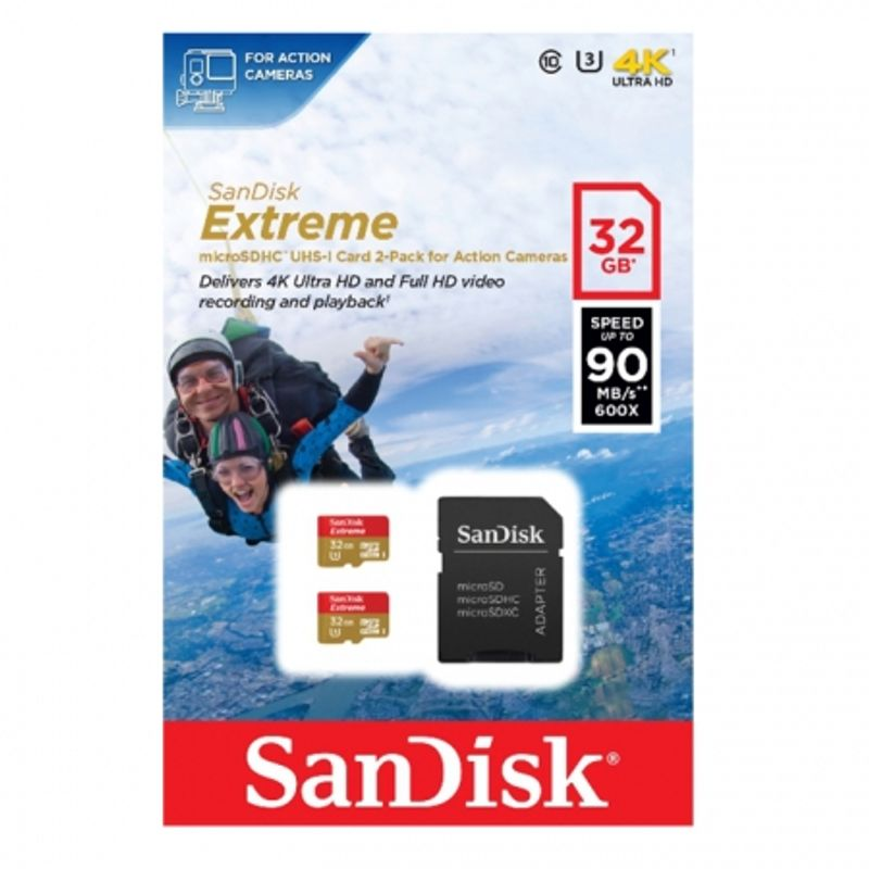 sandisk-extreme-microsdhc-32gb-sd-adapter-for-action-sports-cameras-90mb-s-class-10-u3-uhs-i-2-pack-47230-932