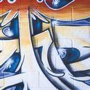 Lastolite LB5714 Urban Collapsible Background 1.5x2.1m Distressed Paper/Graffiti