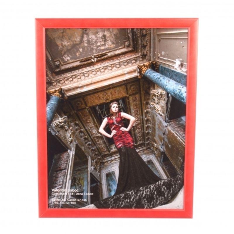 rama-foto-lemn--30x45cm--rosu--margine-ingusta--51639-671