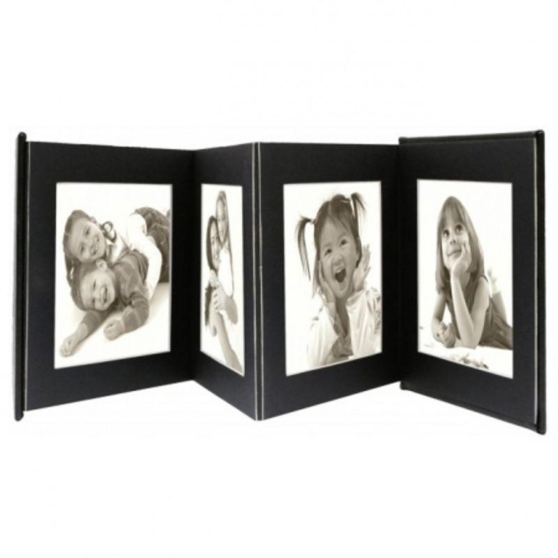 deknudt-leporello-a66dc2-rame-foto-pentru-8-fotografii--13x18cm--negru-52433-181