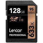 Lexar SDXC 128GB 633x Professional Class 10 UHS-I U1