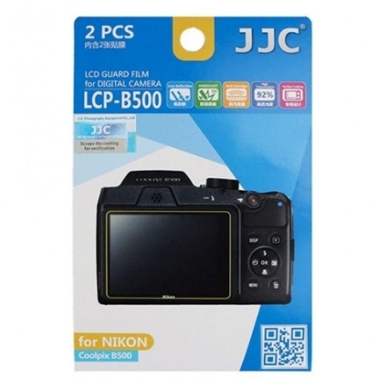 jjc-folie-protectie-lcd-pentru-nikon-coolpix-b500--2-buc--56538-522