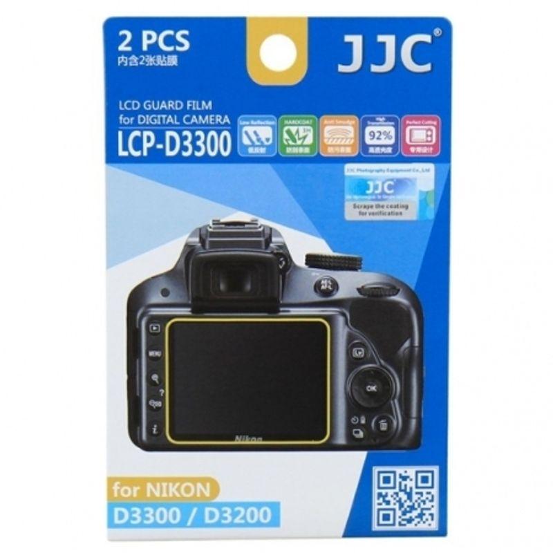 jjc-folie-protectie-lcd-pentru-nikon-d3300--d3200--d3400--2-buc--56551-251