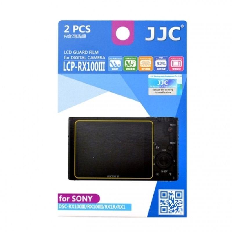 jjc-folie-protectie-lcd-pentru-sony-rx100iv--rx100iii--2-buc--56558-430