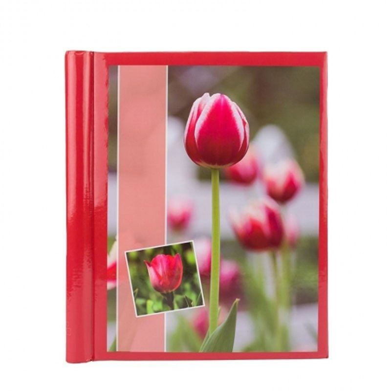 album-foto-red-flower--20-pagini--23x28cm--rosu-65631-625