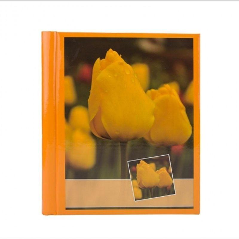 album-foto-orange-flower--10-file-autoadezive--20-pagini-foto--23x28cm--portocaliu-65632-459
