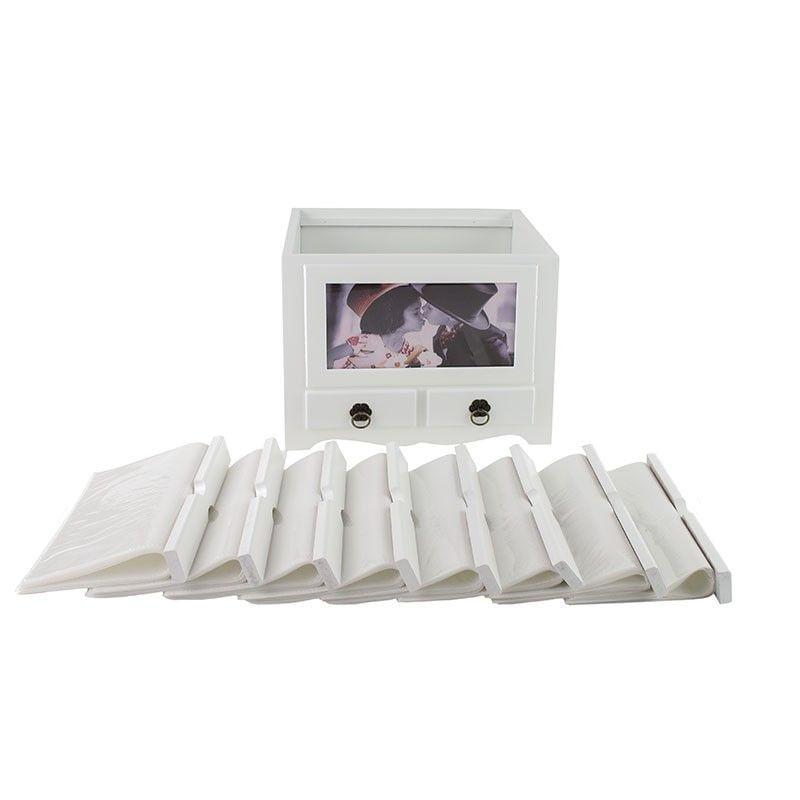 album-foto-din-lemn-personalizabil-cu-2-sertare--10x15--192-fotografii--alb-65641-5-434