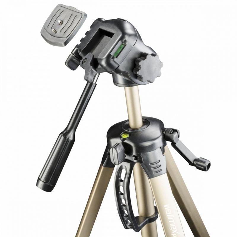 walimex-wt-3530-basic-tripod-3d-panhead-146cm-bronze_2