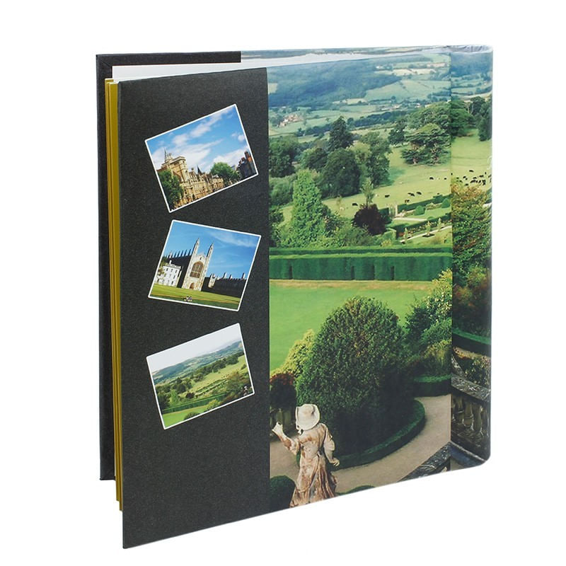 album-foto-assort-green-file-autoadezive-a4-cartonat-legatura-spirala