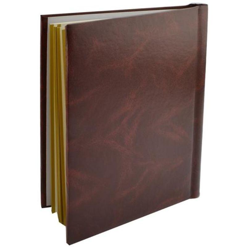 490028427.procart-album-poze-clasic-20-file-autoadezive-23x28cm-piele-ecologica-insertii-aurii-culoare-maro-drs20classic-1