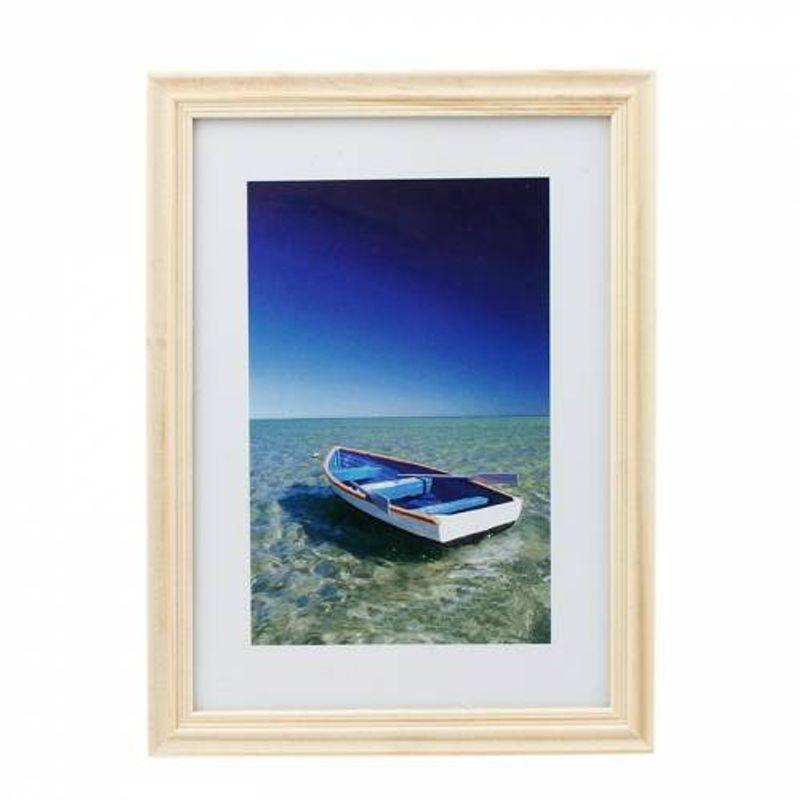 rama_foto_ocean_boat_13x18_cm_lemn_aspect_vintage_de_birou_natur