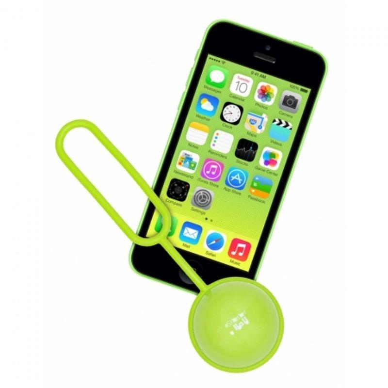kit-vision-shutterball-telecomanda-bluetooth-pentru-telefoane-mobile-verde-34970