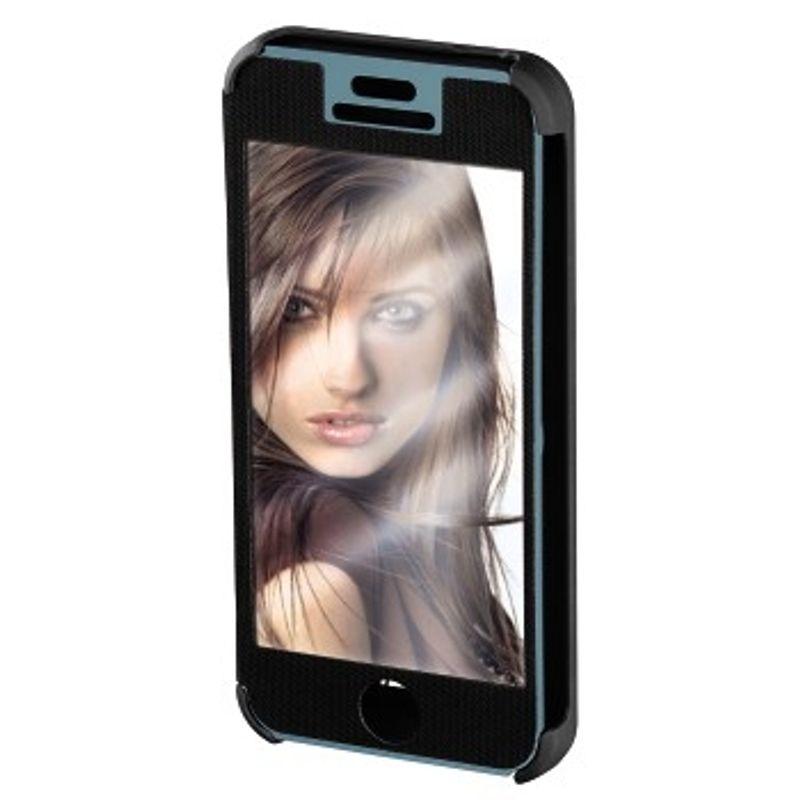 hama-booklet--quot-mirror-quot--husa-de-protectie-iphone-5-5s-negru-35279