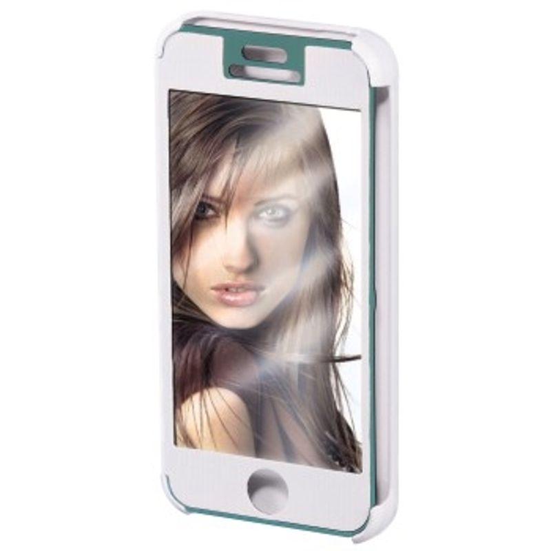 hama-booklet--quot-mirror-quot--husa-de-protectie-iphone-5-5s-alb-35280