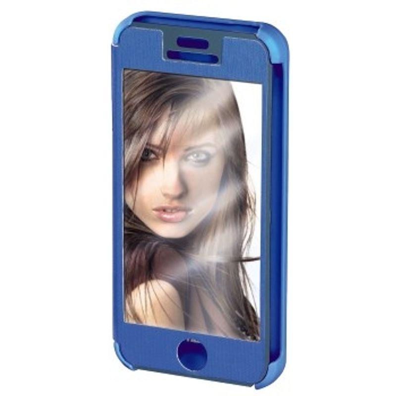 hama-booklet--quot-mirror-quot--husa-de-protectie-iphone-5-5s-albastru-35281