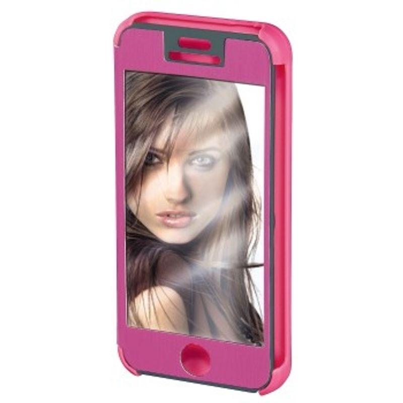 hama-booklet--quot-mirror-quot--husa-de-protectie-iphone-5-5s-roz-35282