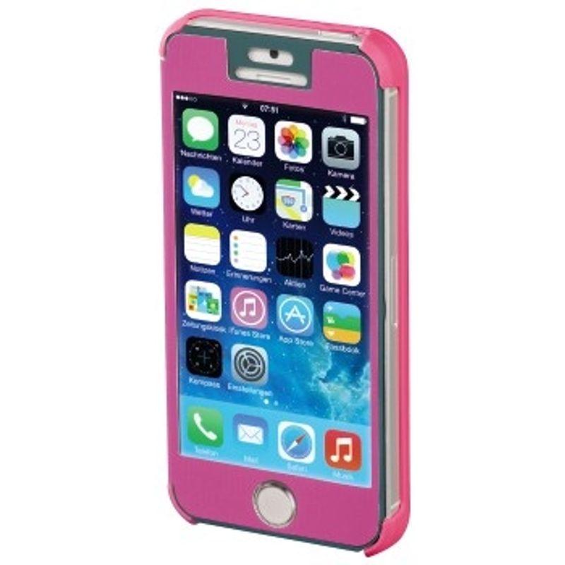 hama-booklet--quot-mirror-quot--husa-de-protectie-iphone-5-5s-roz-35282-1