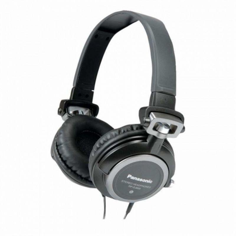 panasonic-rp-dj600-casti-stereo-dj-negru-36084