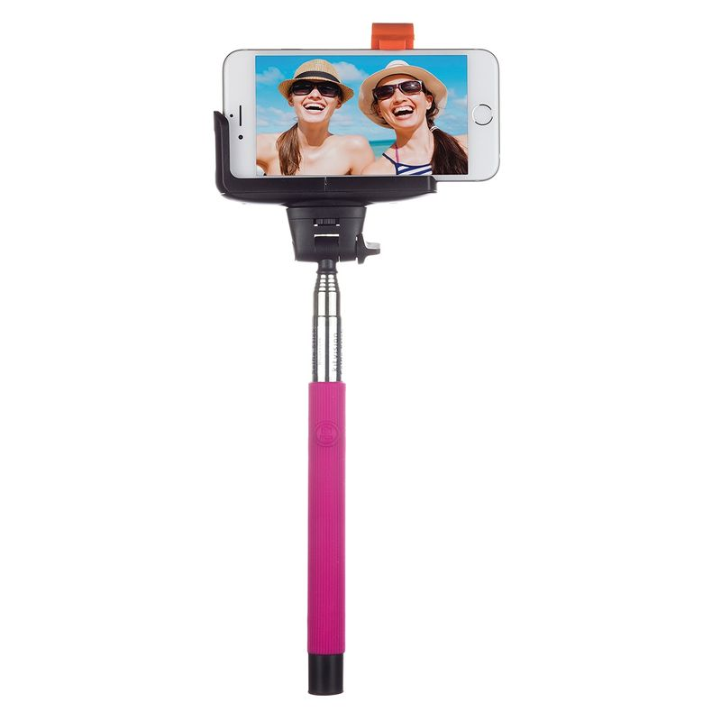 kitvision-btssphpi-selfie-stick-extensibil-cu-control-actionare-shutter-pe-bluetooth-si-suport-de-telefon--roz-40060-511