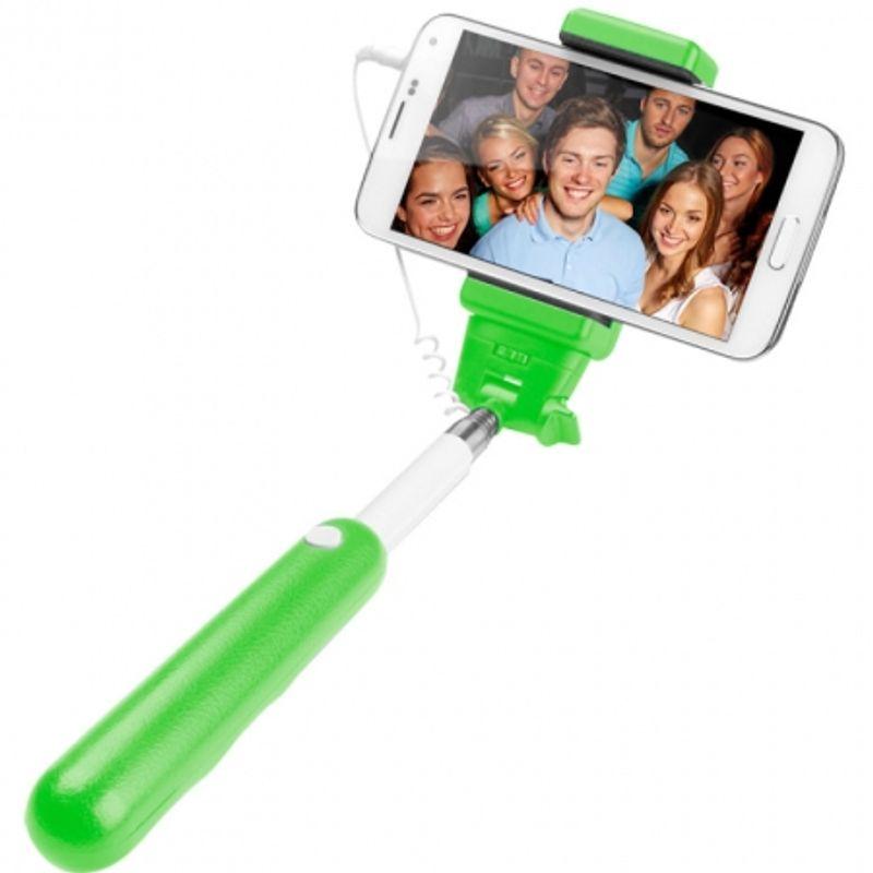 cellurline-selfie-stick-extensibil-cu-telecomanda-incorporata-verde-45641-519