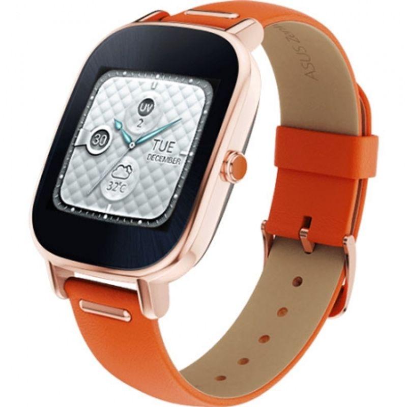 asus-smartwatch-zenwatch-2-curea-piele-portocalie-48243-163