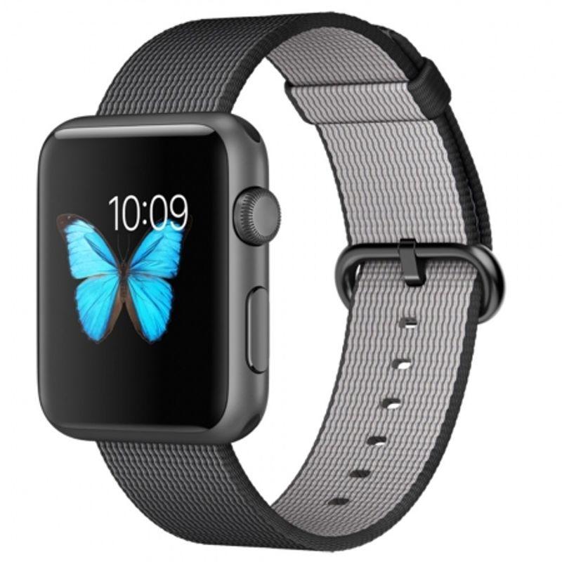 a-pple-watch-sport-smartwatch--42mm--carcasa-din-aluminiu-space-grey--curea-woven-nylon-neagra--56066-755