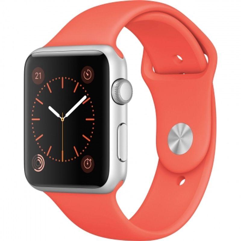 apple-watch-sport-42mm-carcasa-aluminiu-argintie--curea-sport-apricot-58561-461